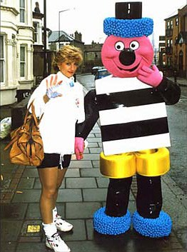 Bertie Bassett is pictured with a 'mystery blonde'