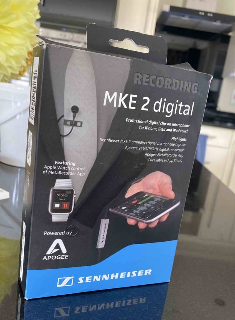 Sennheiser MKE 2 Digital Lavalier Microphone