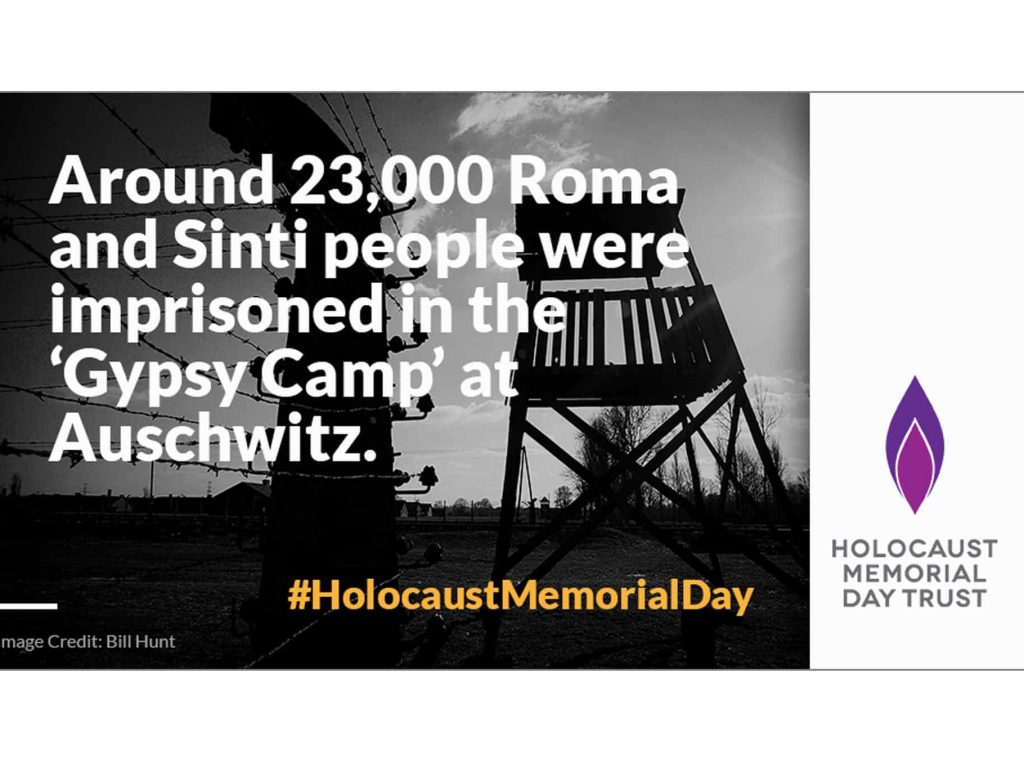 For the Holocaust Memorial Day Trust